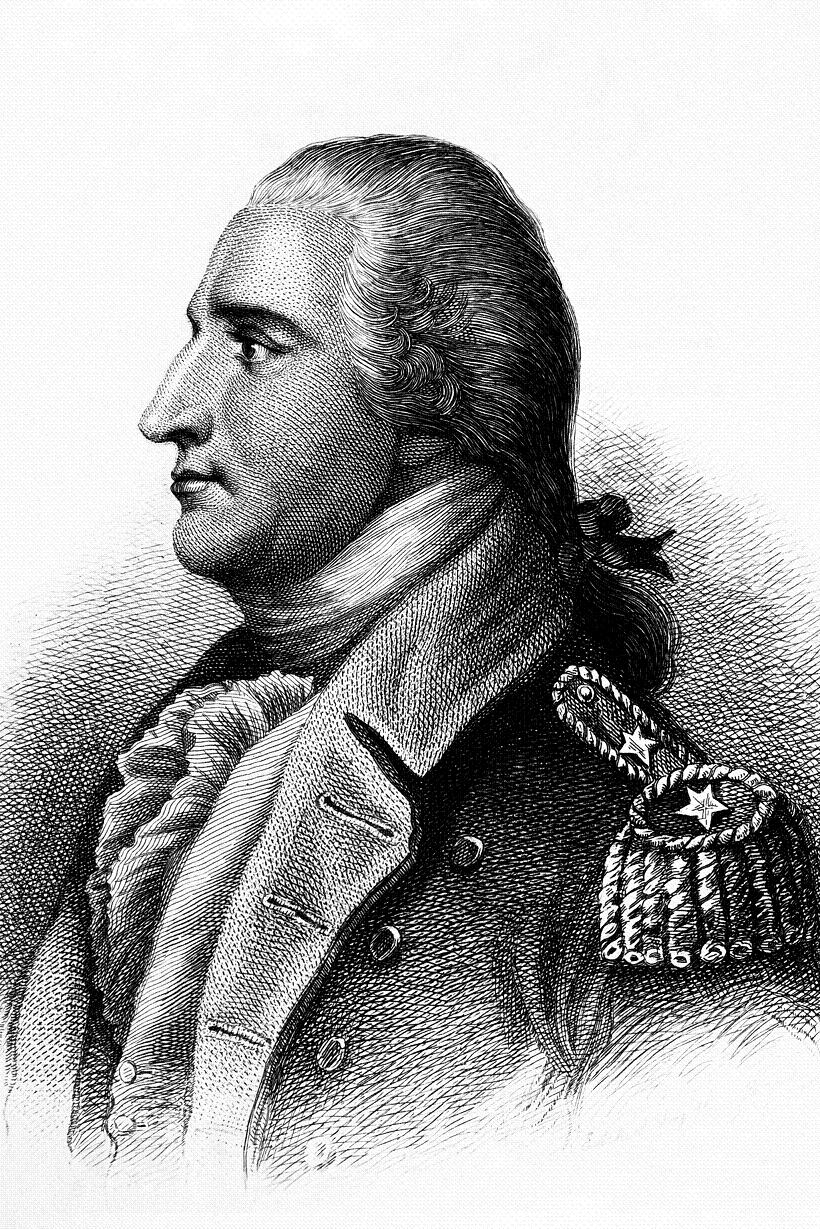 Benedict Arnold. Copy of engraving by H.B. Hall after John Trumbull, published 1879. (George Washington Bicentennial Commission) Exact Date Shot Unknown NARA FILE #: 148-GW-617 WAR & CONFLICT BOOK #: 62