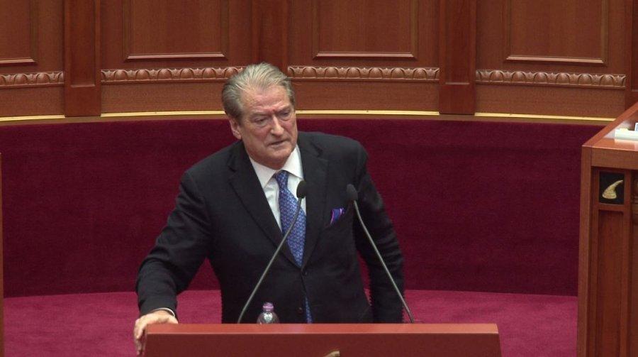 Berisha bën një paralajmërim  bomb   Edvin i ke ditët e numëruara  shqiptarët do të heqin zvarrë për së gjalli jo si Enverin bust