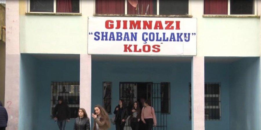 Skandali  Mbyllet gjimnazi  Shaban Çollaku