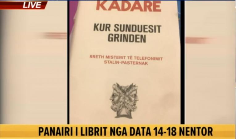Panairi i librit  Ismail Kadare vjen me  Kur sunduesit grinden