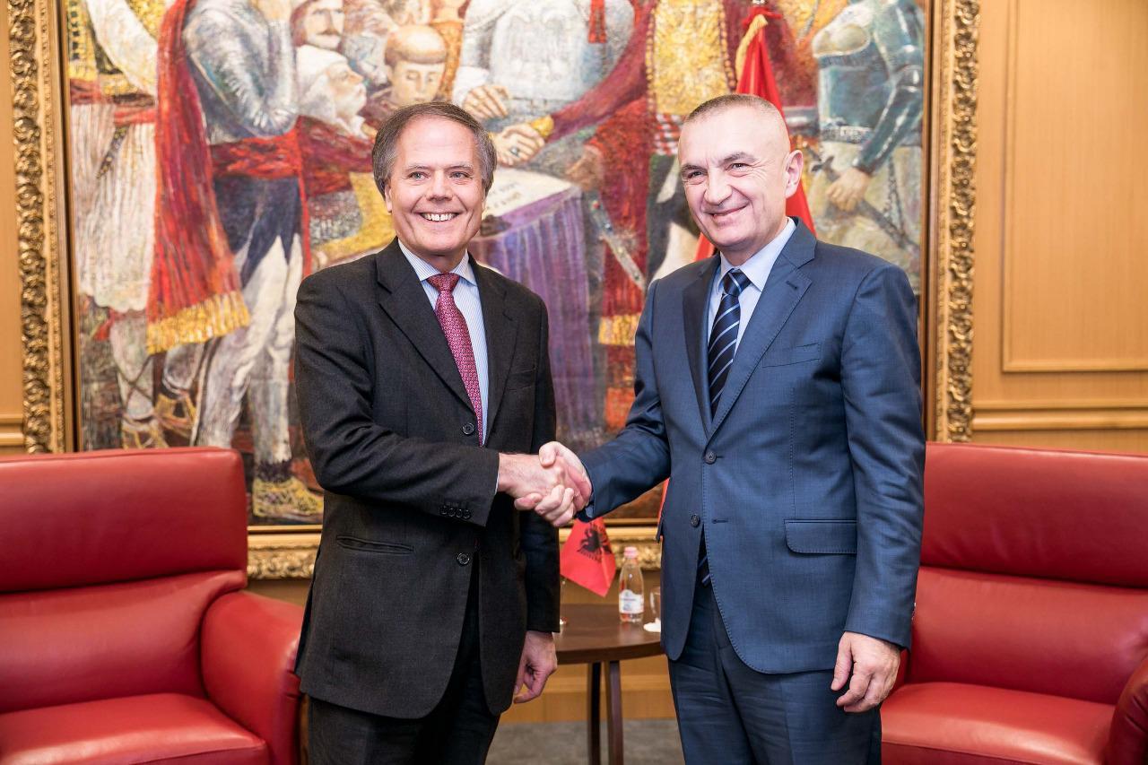 Presidenti Meta priti Ministrin e Jashtëm italian  Enzo Moavero Milanesi
