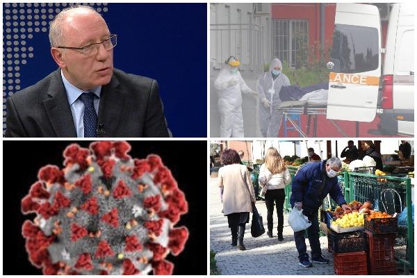 Ecuria e epidemisë nga COVID 19   Profesori i Imunologjisë  Genc Sulçebe  Si do arrihet  imuniteti i tufës  në Shqipëri nga koronavirusi  Numri i të rrezikuarve pritet të jetë rreth